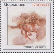 Mozambique 2002 The Wonderful World of Horses f