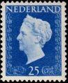 Netherlands 1947 Queen Wilhelmina - Type Hartz e.jpg