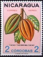 Nicaragua 1968 Fruits j