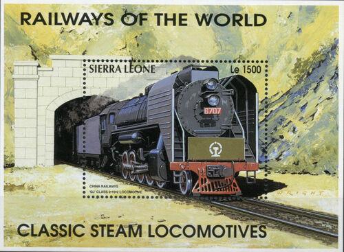 Sierra Leone 1995 Railways of the World SSe