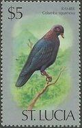 St Lucia 1976 Birds o