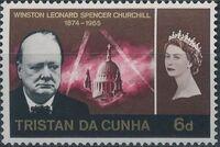 Tristan da Cunha 1966 Churchill Memorial c