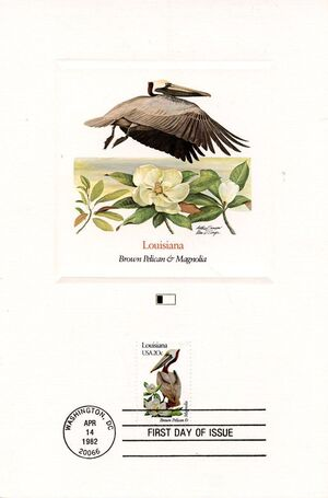 United States of America 1982 State birds and flowers FOLb9