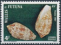 Wallis and Futuna 1987 Sea Shells b