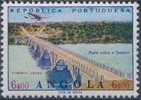 Angola 1965 Various Works and Airplane g