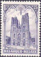 Belgium 1928 Anti Tuberculosis - Cathedrals e
