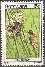 Botswana 1978 Birds of Botswana h