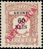 Guinea, Portuguese 1911 Postage Due Stamps f