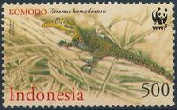 Indonesia 2000 WWF Komodo Dragon b