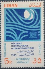 Lebanon 1966 Hydrological Decade (UNESCO) a