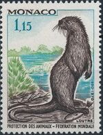 Monaco 1970 20th Anniversary of World Federation for Protection of Animals f