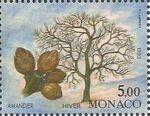 Monaco 1993 The Four Seasons of an Almond Tree d