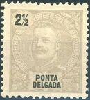 Ponta Delgada 1897 D. Carlos I a
