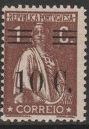 Portugal 1928 Ceres Surcharged c