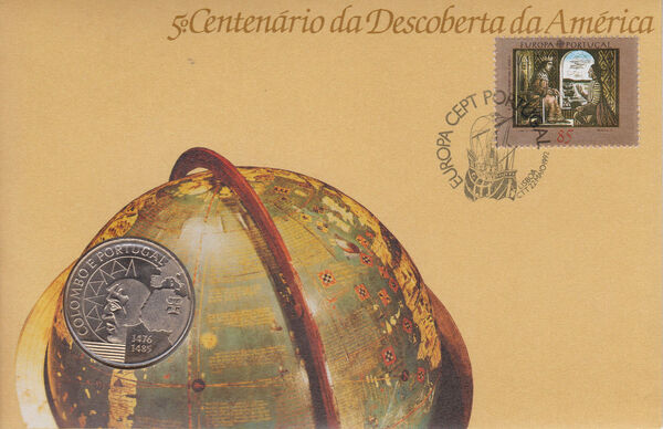 Portugal 1992 EUROPA - 5th Centenary of Discovery of America FDCa2
