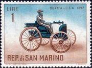 San Marino 1962 Automobiles (pre-1910) a