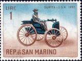 San Marino 1962 Automobiles (pre-1910)