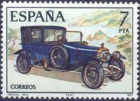 Spain 1977 Spanish Pioneer Automobiles d