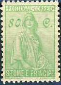 St Thomas and Prince 1934 Ceres - New Values l
