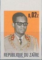 Zaire 1973 President Joseph Desiré Mobutu h