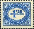Austria 1947 Postage Due Stamps - Type 1894-1895 with 'Republik Osterreich' y.jpg