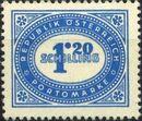 Austria 1947 Postage Due Stamps - Type 1894-1895 with 'Republik Osterreich' y