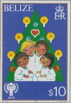 Belize 1980 International Year of the Child r