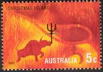 Christmas Island 2002 Year of the Horse d