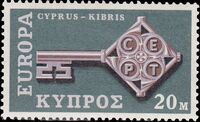 Cyprus 1968 Europa-CEPT a
