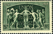France 1949 75th Anniversary of UPU a