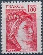France 1977 Sabine after Jacques-Louis David (1748-1825) (1st Issue) b