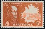 Martinique 1945 Victor Schoelcher p