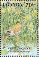 Uganda 1991 Animals of Uganda's Wetlands f