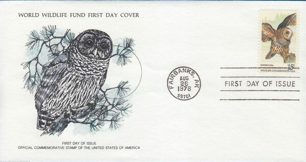 United States of America 1978 Wildlife Conservation Issue FDCc