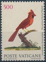 Vatican City 1989 Birds from Eleazar Albin Engravings e