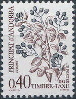 Andorra-French 1985 Flowers (Postage Due Stamps) d