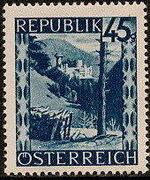 Austria 1946 Landscapes (II) l