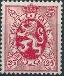 Belgium 1929 Arms - Heraldic Lion f