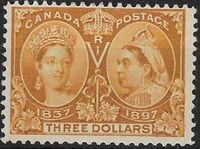 Canada 1897 60th Year of Queen Victoria's Reign n