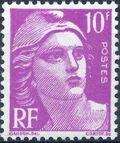 France 1948 Marianne type Gandon f