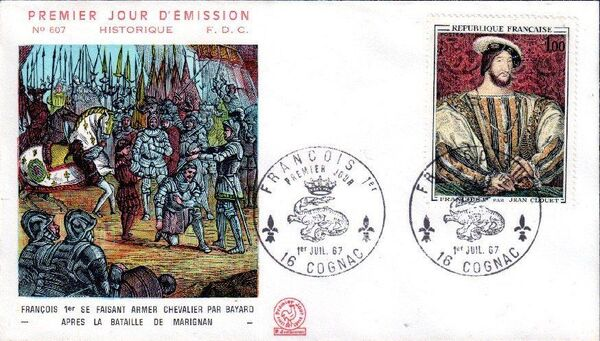 France 1967 French Art (1967-2) FDCc
