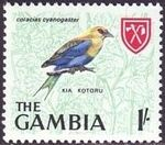 Gambia 1966 Birds h