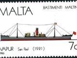 Malta 1986 Maltese Ships (4th Series)