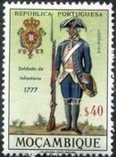 Mozambique 1967 Military Uniforms c