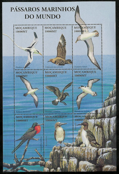 Mozambique 2002 Sea Birds of the World j