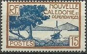 New Caledonia 1928 Definitives f