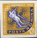 Romania 1963 9th Winter Olympic Games in Innsbruck n