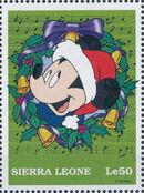 Sierra Leone 1997 Disney Christmas Stamps n