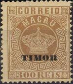 """Timor 1884 Stamps of Macau Overprinted """"TIMOR"""" j"""