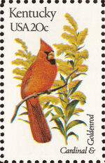 United States of America 1982 State birds and flowers p